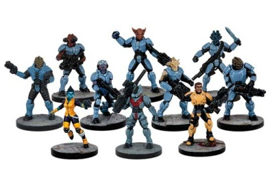 Tiger Corps (10 Figures)