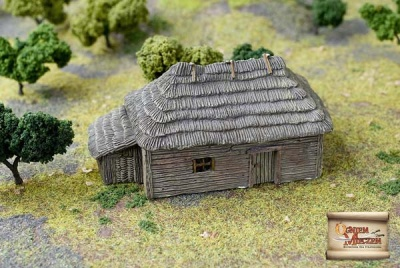 Big peasant hut (BOX)