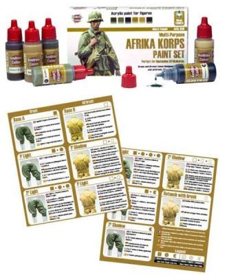 Africa Korps Paint Set