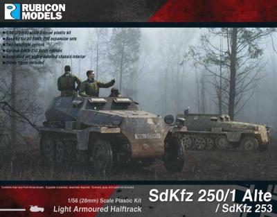 SdKfz 250/1 Alte & SdKfz 253