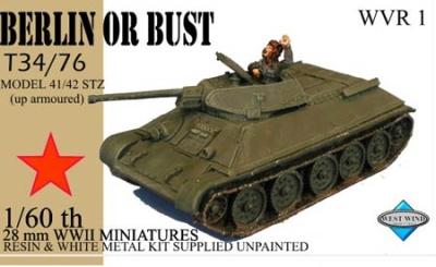T34/76 Model 41/42 STZ (Up Armoured)