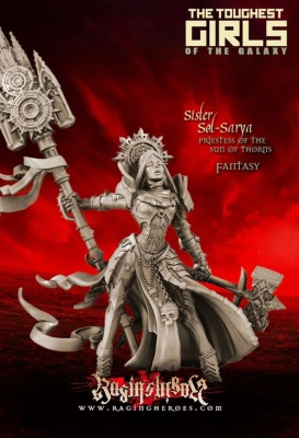 Sol-Sarya, Priestess of the Sun of Thorns (Sisters - Fantasy