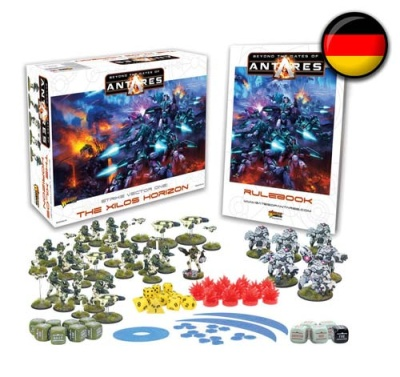 Beyond the Gates of Antares Starter Set (DEUTSCH)