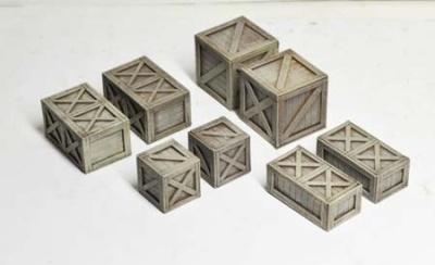 Wooden Crates (x8)