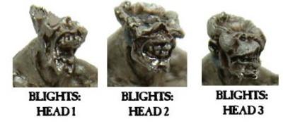 Blight Heads (3)