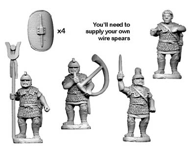 Veteran Spearmen Command (4 figures)