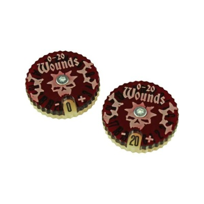 Wound Dials Numbered 0-20 (2)