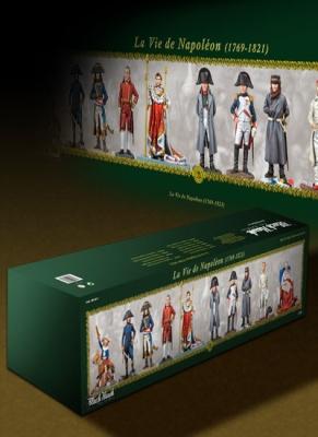 La Vie de Napoleon (1769-1821) (10 Figuren)