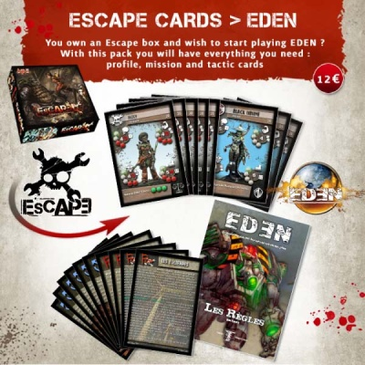 Card Pack: Escape -> EDEN