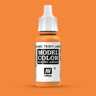 Model Color 022 Hellrotorange (Light Orange) (911)
