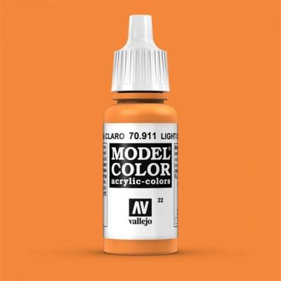 Model Color 022 Hellrotorange (Light Orange) (911)