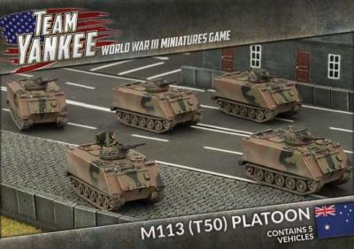 M113 (T50) Platoon (Plastic)