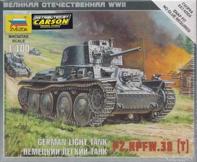 1:100 Wargame AddOn: Pz 38t