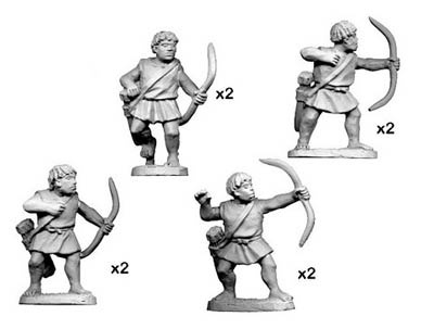 Numidian Warriors with Bow (8)