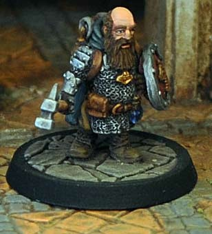 Dwarf Cleric in Chainmail