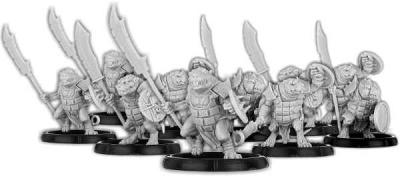 No-Claw's Burrow, Spear-Vras Unit (10)