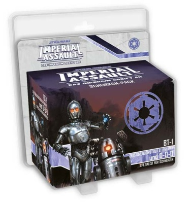 SW: Imperial Assault BT-1 und 0-0-0 - Schurken-Pack