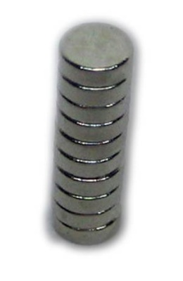 Neodymmagneten (10) 3x1mm