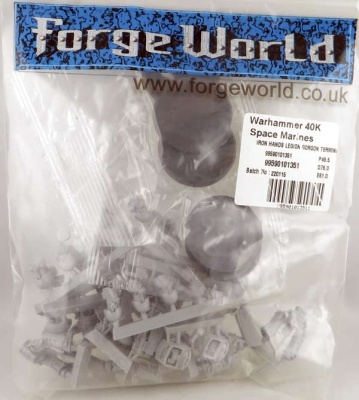 FORGEWORLD: Iron Hands Gorgon Terminators (5)