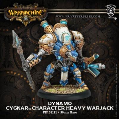 Cygnar Dynamo Character Heavy Warjack