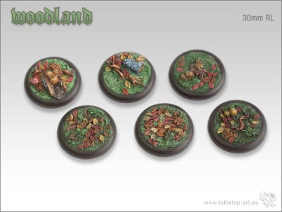 Woodland, 30mm Relief (5)