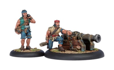 Mercenary Sea Dog Deck Gun Crew