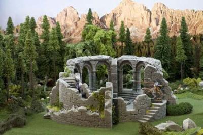 Wachturm Ruine Nalog