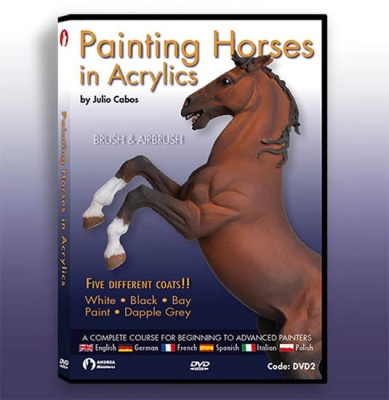 Painting Horses In Acrylics DVD