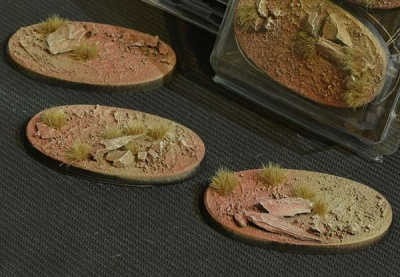 Badlands Bases - Oval 75mm (3)