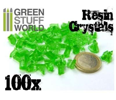 Crystals Resin GREEN