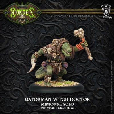 Minions Gatorman Witch Doctor