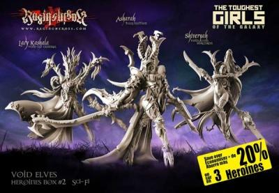 Heroines Box Void Elves 2 (SF)