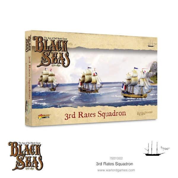 3rd Rates Squadron (1770 - 1830)