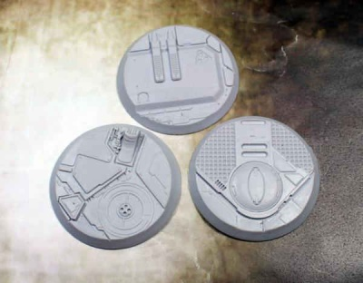 Secret Weapon Scenic Bases: 50mm Tau Ceti (3)
