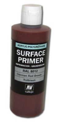 Vallejo Primer German Red Brown (Polyu.) (200ml)