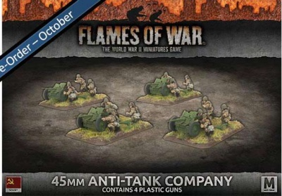 45mm Anti-Tank Company (Plastic)