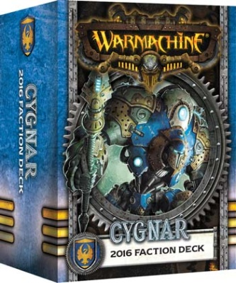 WARMACHINE Cygnar 2016 Fraktionsdeck DEUTSCH
