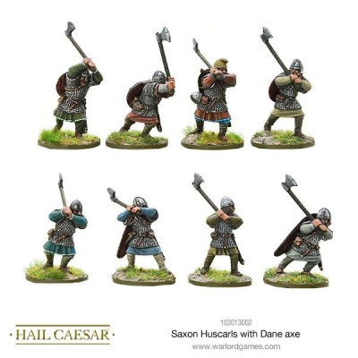 Saxon Huscarls with Dane axe (8)