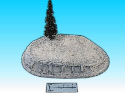 Geländestück Eishügel
