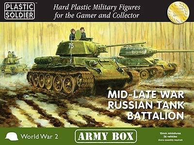 15mm: Mid/Late War Russian Tank Battalion Box