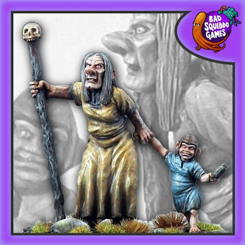 Hyacinth - Ogre Oracle with Ogre Child (2)