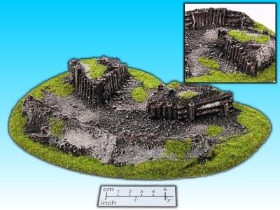 Geländestück Schützengraben II