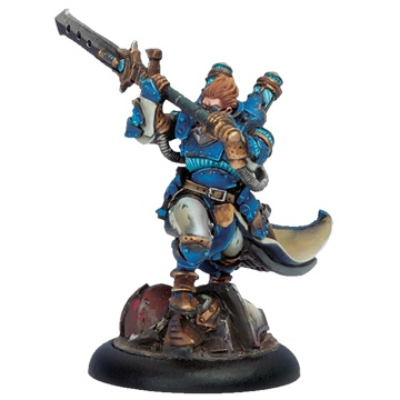 Cygnar Epic Warcaster Lord Commander Styker
