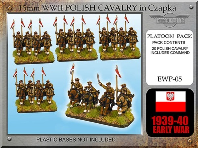 Early War Polish Cavalry Chapzka / Lance (20)