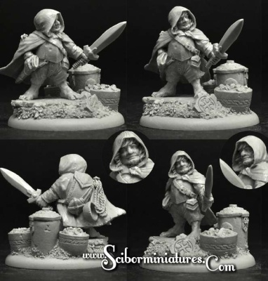 Gnome Thief (54mm)