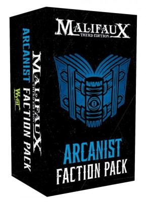 Malifaux (M3E): Arcanist Faction Pack