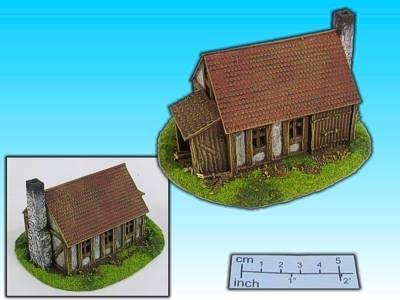 Geländestück Schmiede (15mm)