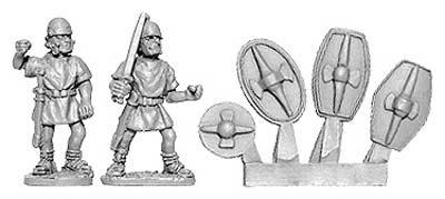 Penal Legion w/Gallic armaments (8 from 2 designs)