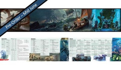 "Dungeons & Dragons: ""Of Ships & The Sea""- DM Screen"