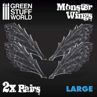 Resin Monster Wings - Large (2)
